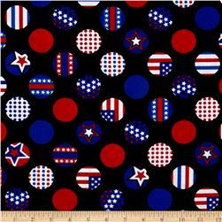 Kanvas All American Dot Black