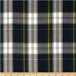 House of Wales Plaid Blue