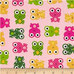 Urban Zoologie Frogs Spring Fabric