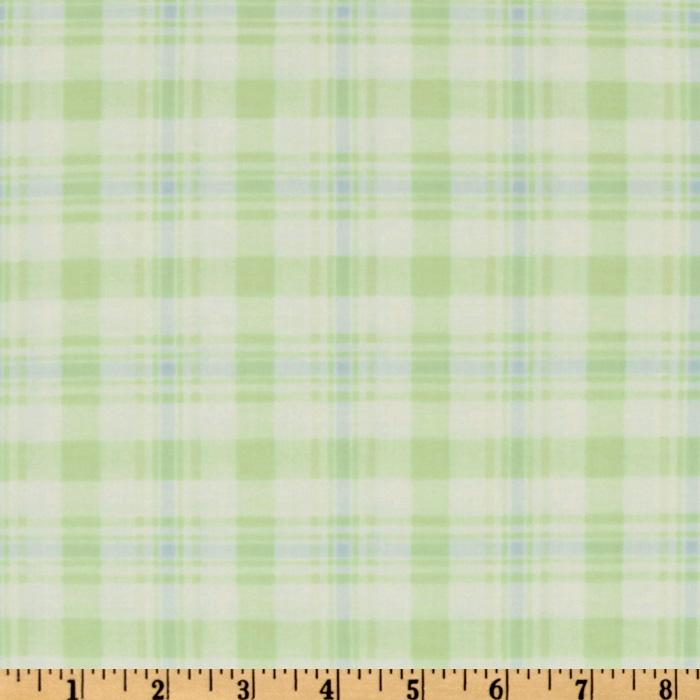 Baby Business Argyle Plaid Green/Blue