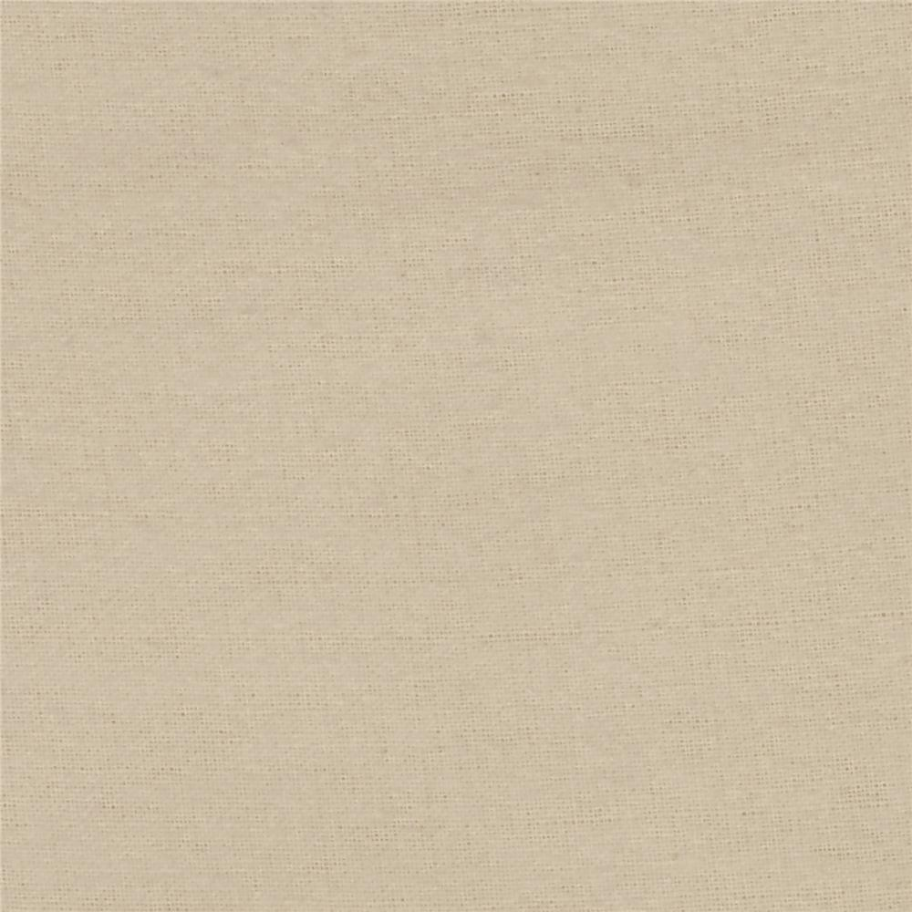 Alpine Flannel Solid Ivory Fabric By The Yard
