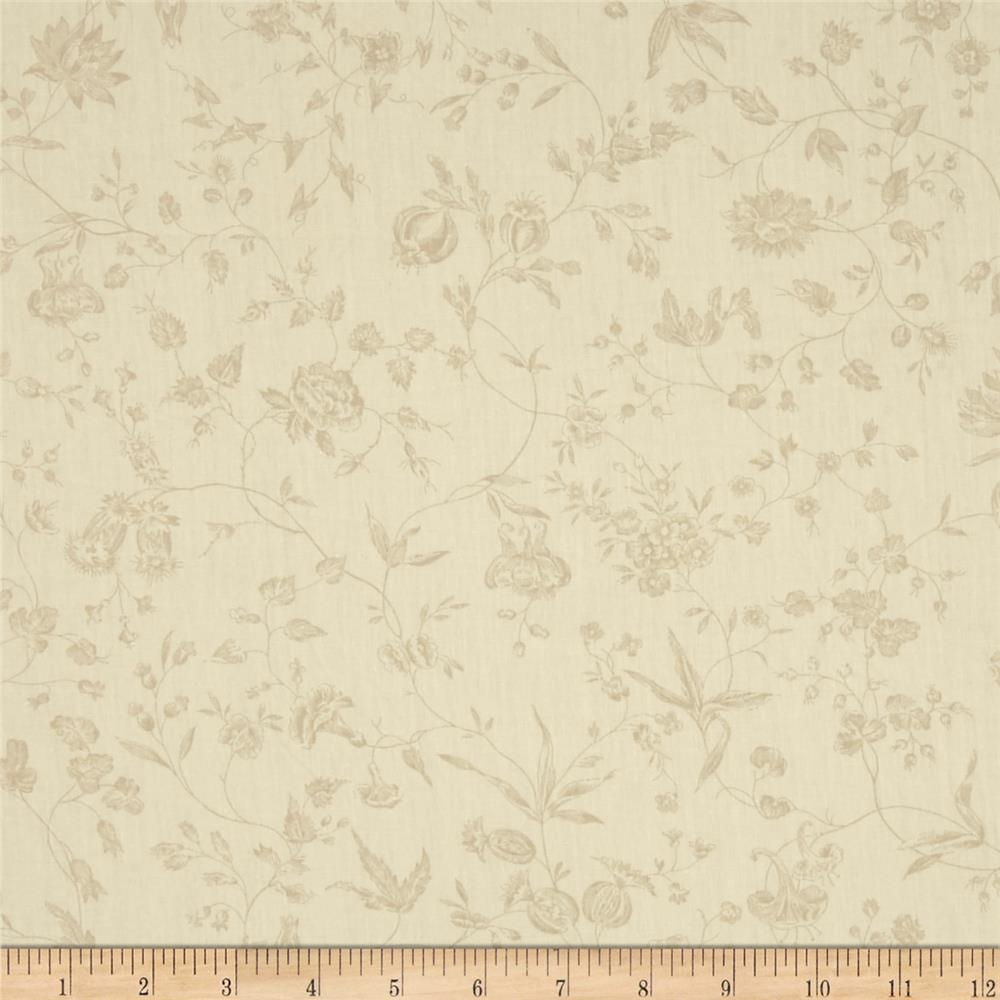 "Moda Pondicherry 108"" Quilt Back Villianur Tonal Pearl"