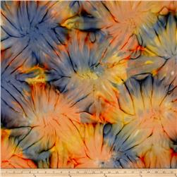 Timeless Treasures Tonga Batik Sunburst Tie-Dye Samba