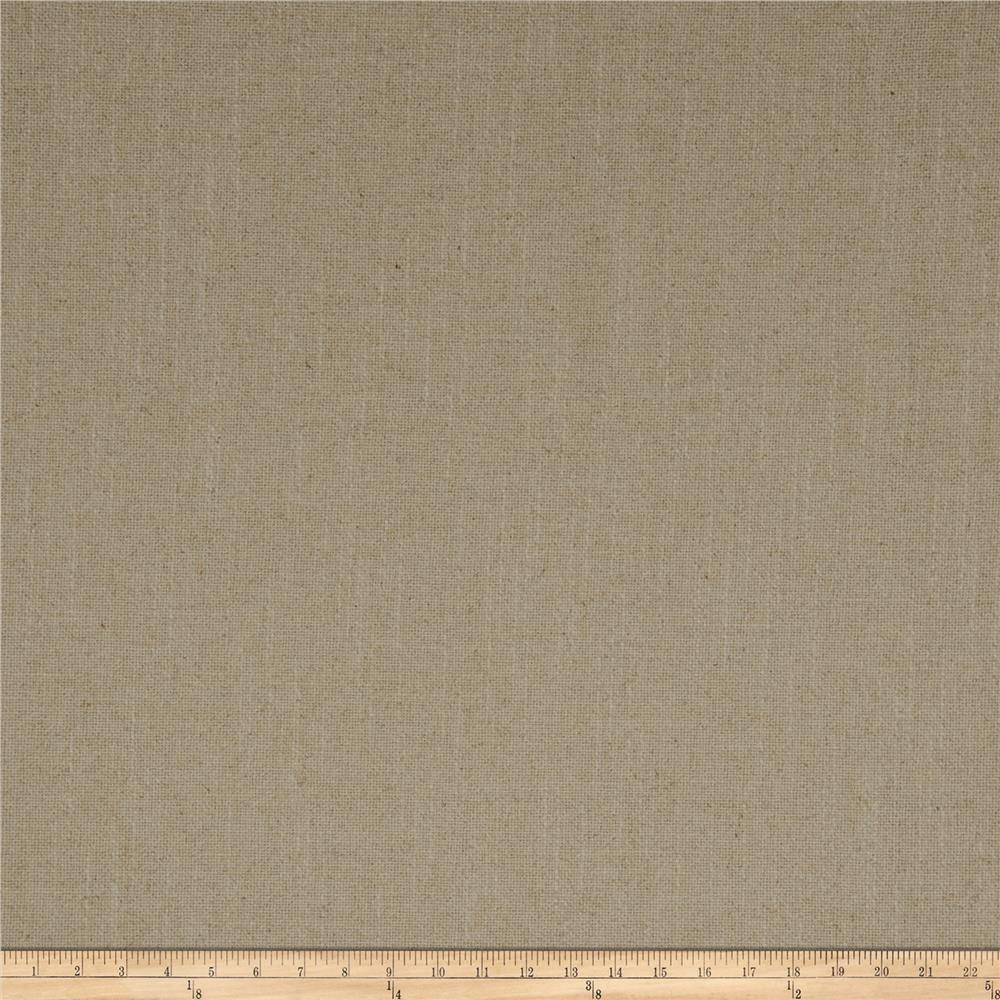 French General Cassis Basketweave Linen Natural