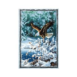 Winter Whispers Eagle Panel Multi