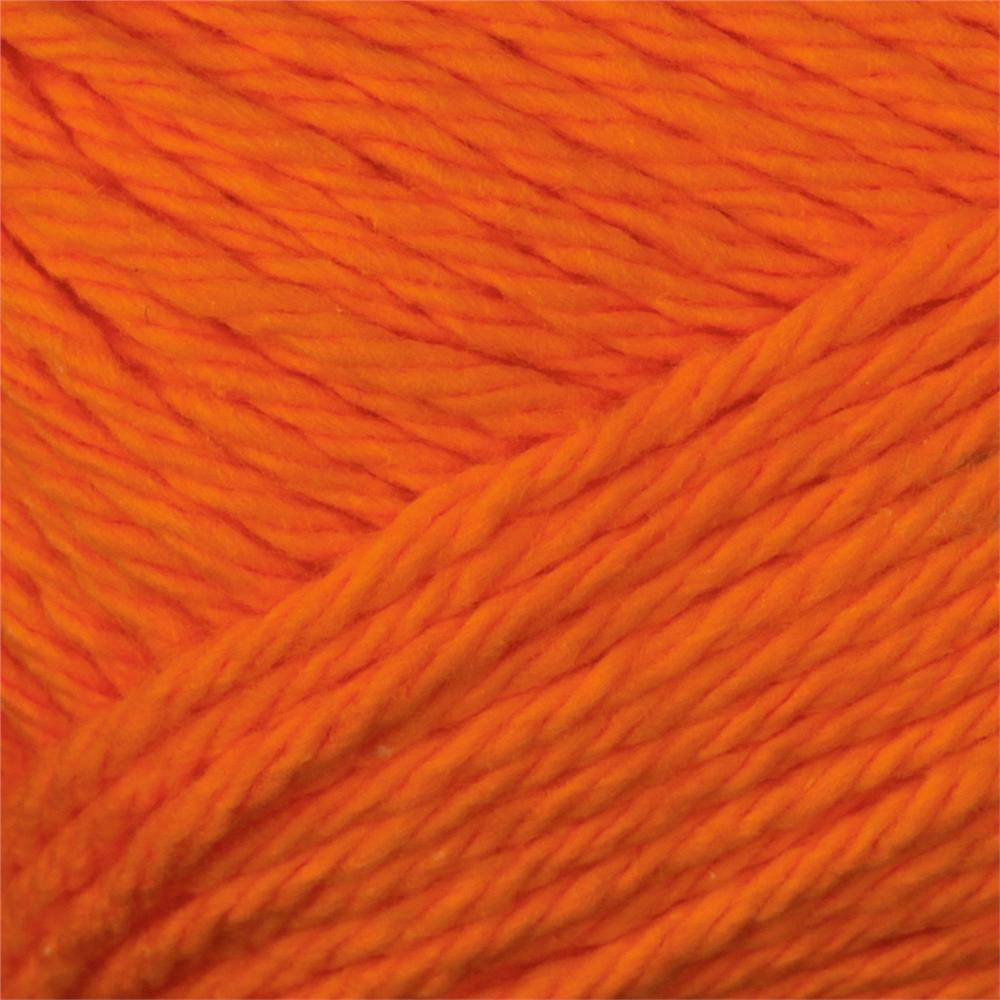 Peaches & Creme Solid Yarn (01628) Bright Orange