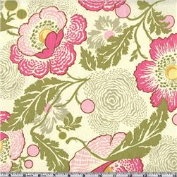 Amy Butler Midwest Modern Fresh Poppies Fuchsia Fabric