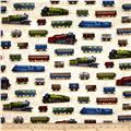 All Aboard Train Cars Vintage