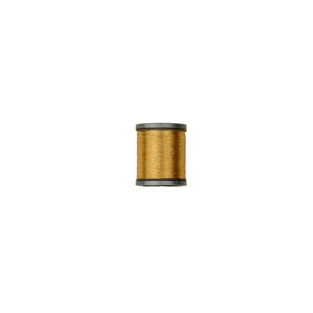 Coats & Clark Metallic Embroidery Thread 125 YD Gold