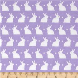 Dreamland Flannel Bedtime Bunny Lavender Lily