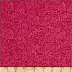 Small Tone on Tone Floral Pink
