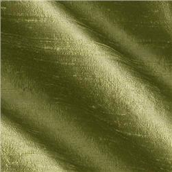 Dupioni Silk Fabric Kiwi