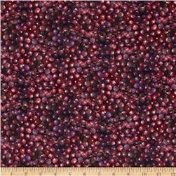 Mia Sonoma County Digital Print Packed Grapes Purple
