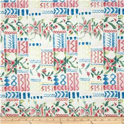 Tea Garden Garden Swatch White
