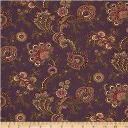 Moda Collections for a Cause Mill Book 1892 Flourish Purple