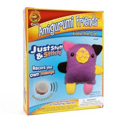 Lion Brand Amigurumi Friends With Sound Katie The Cat