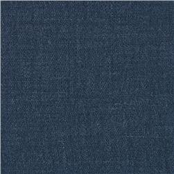 Sorrento Linen Solid Denim Blue