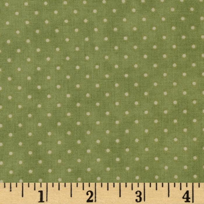Moda Essential Dots (# 8654-15) Sage