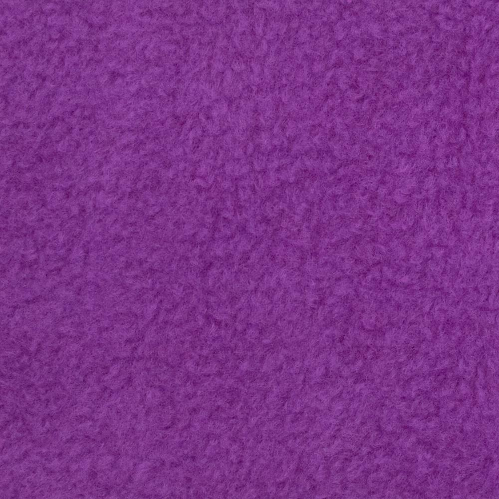 Warm Winter Fleece Solid Lilac Fabric