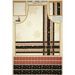 Making Spirits Bright Apron Panel Multi