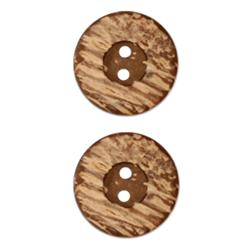 Genuine Coconut Button 3/4'' Mauila Natural