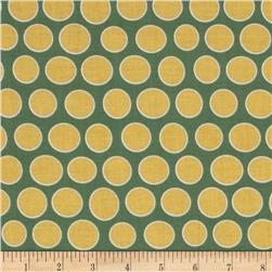 Riley Blake Valencia Dot Green Fabric