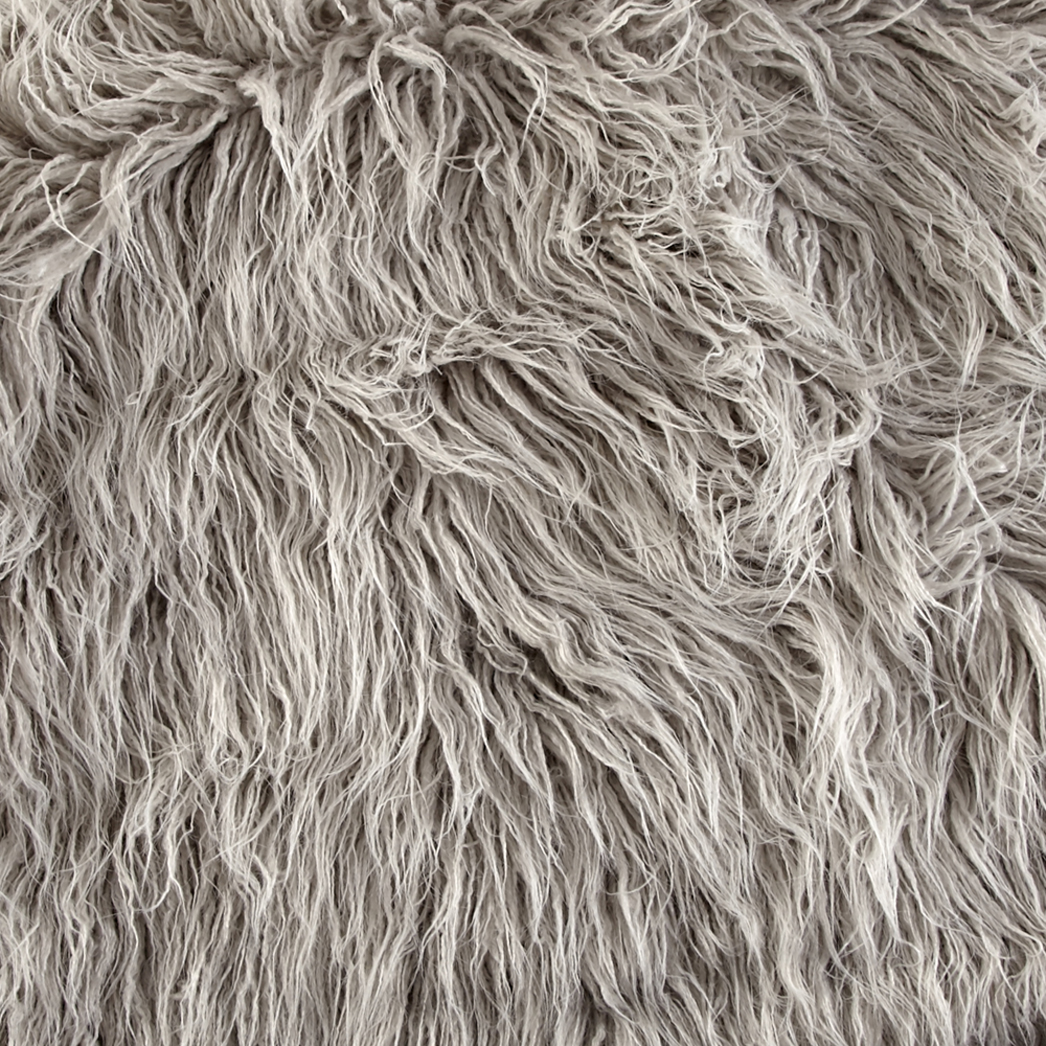 Luxury Faux Fur Curly Yak Vapor Fabric by Shannon in USA