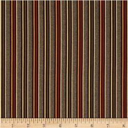 Retro Geo Stripes Brown