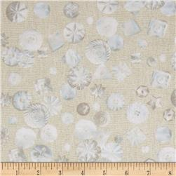 Haberdasher Tossed Buttons Ivory Fabric