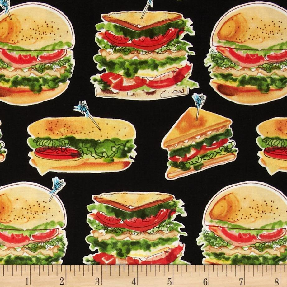 Let's Do Lunch Sandwiches Black