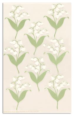 Martha Stewart Crafts Stickers Lily Of the Valley