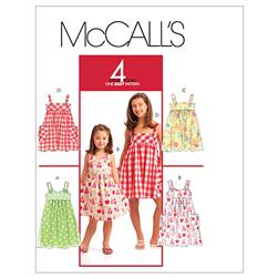 McCall's Children's/Girls' Dresses Pattern M5613 Size CCE