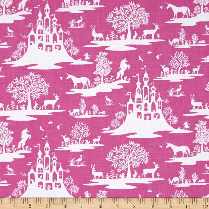 Zoom Dear Stella Pixie Dust Fairy Toile Fuschia