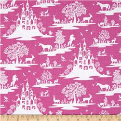 Dear Stella Pixie Dust Fairy Toile Fuschia