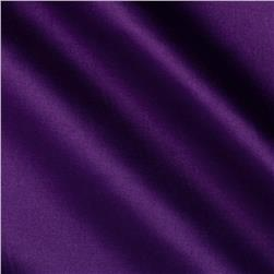 Stretch Blend Sateen Grape