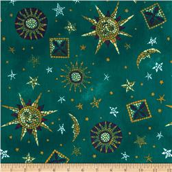 Poly/Cotton Scrub Celestial Teal