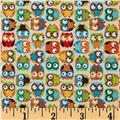 Mini Owls Beige
