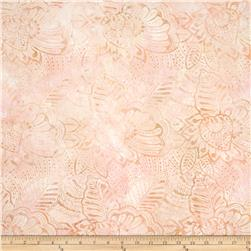 Batavian Batiks Fronds Sweet Peach