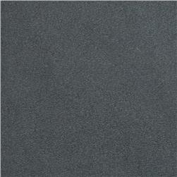 Magitex Water Resistant Upholstery Suede Charcoal Fabric