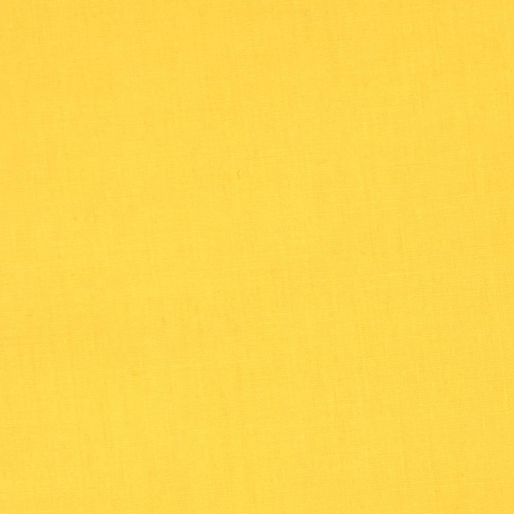 Cotton Blend Broadcloth Yellow