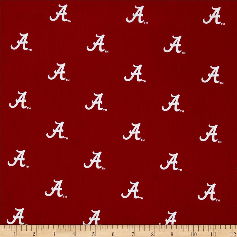 Collegiate Cotton Broadcloth Alabama