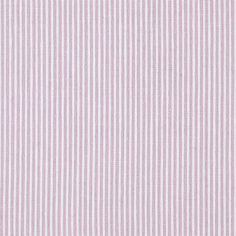 Cotton Pincord Stripe Pink White