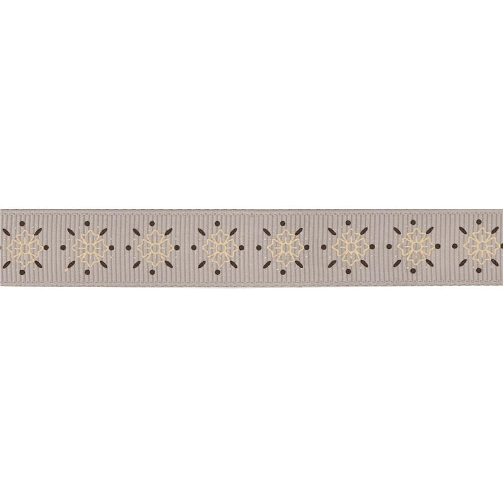 "Riley Blake 5/8"" Grosgrain Ribbon Sasparilla"