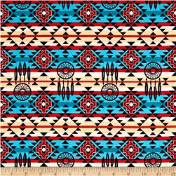 The Old Southwest Native Dream Catcher Turquoise/Black