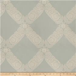 Keller Williams Floral Lattice Jacquard Aqua