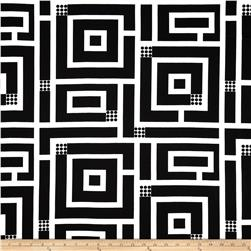 Kanvas Op Art Reflections Squared Black