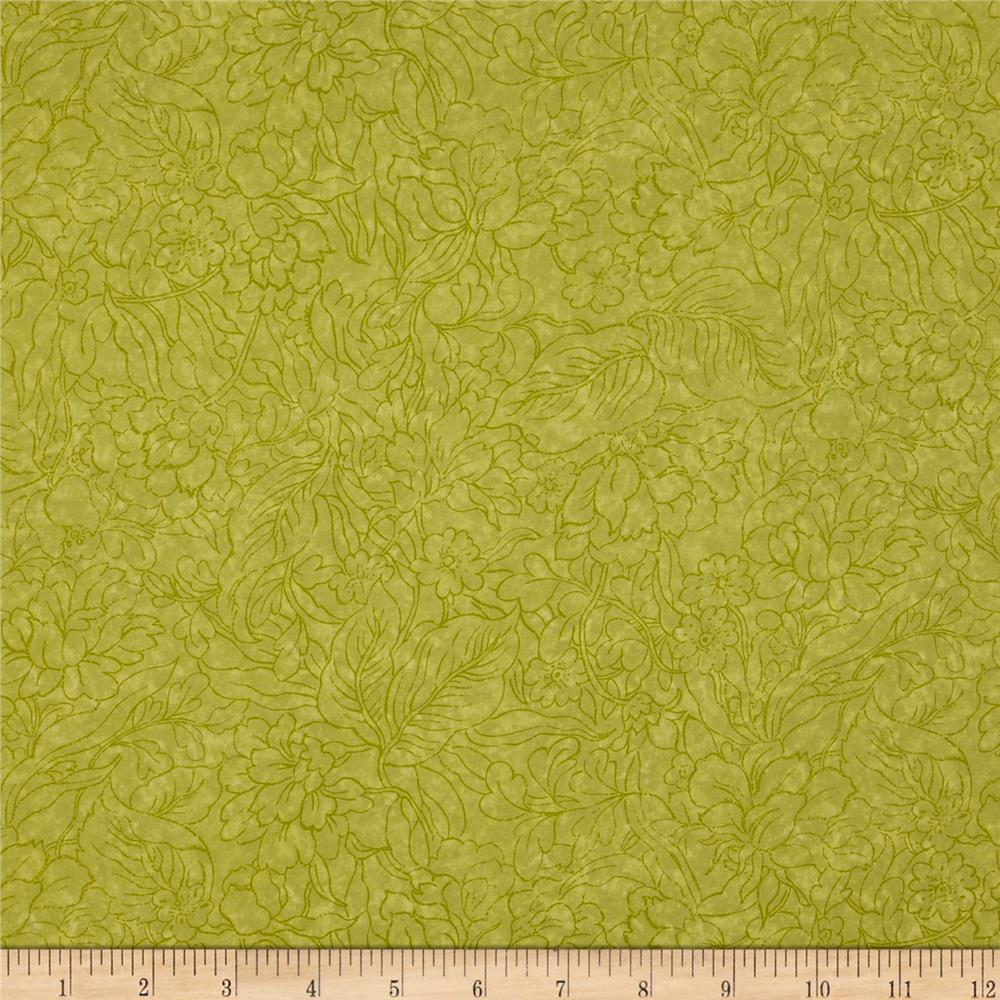 Jinny Beyer Palette Tropical Spring Green