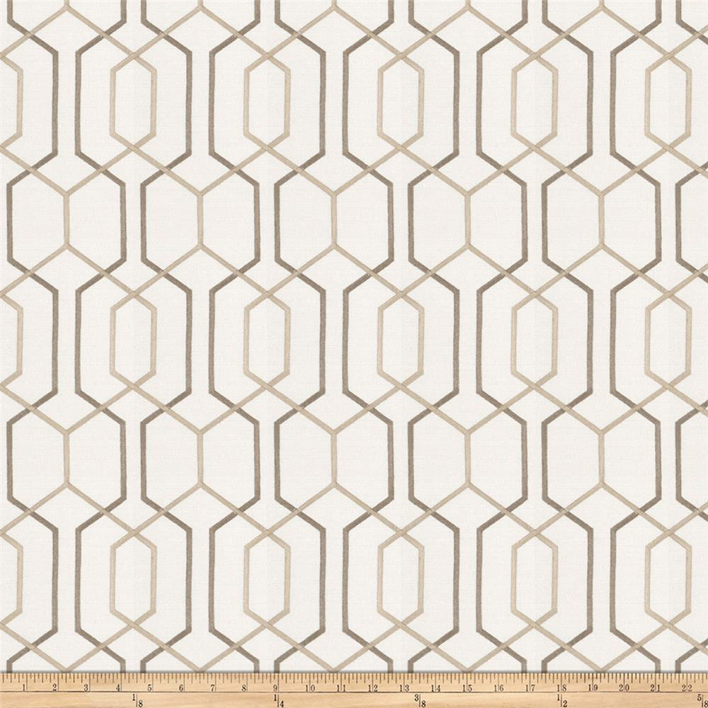 Fabricut Crosswise Embroidered Birch