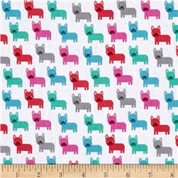 Kaufman Urban Zoology Minis Little Dogs Sorbet