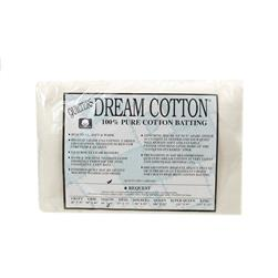 "Quilter's Dream White Cotton Request Batting (60"" x 60"") Throw"